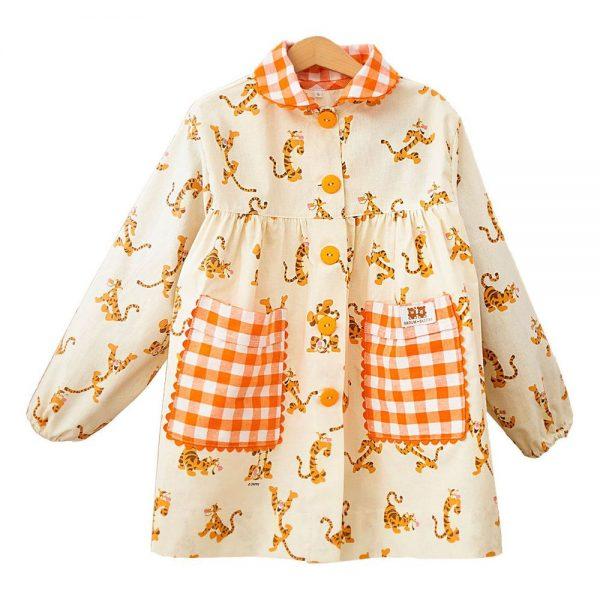 Baby Colegio Tiger y Vichy Naranja
