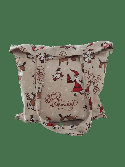 Bolsa tela Navidad