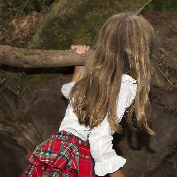 Falda volantes Escocia